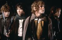 THE LORD OF THE RINGS: THE FELLOWSHIP OF THE RING, Sean Astin, Elijah Wood, Dominic Monaghan, Billy Boyd, 2001