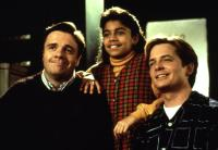 LIFE WITH MIKEY, Nathan Lane, Christina Vidal, Michael J. Fox, 1993