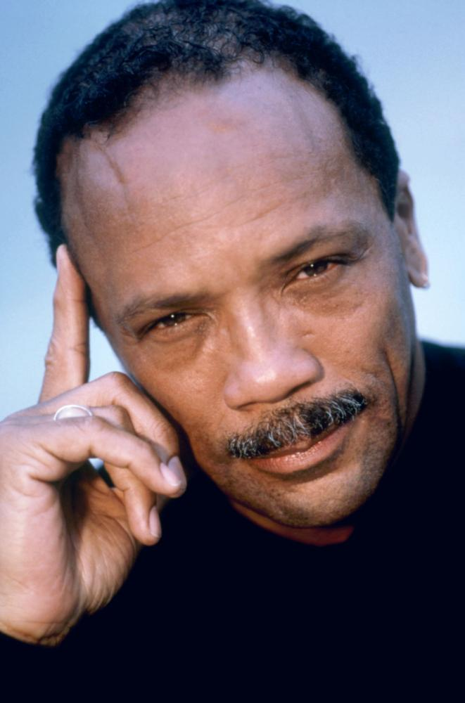 LISTEN UP: THE LIVES OF QUINCY JONES, Quincy Jones, 1990. (c)Warner Bros.