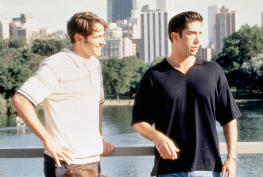 KISSING A FOOL, Jason Lee, David Schwimmer, 1998, (c)Universal