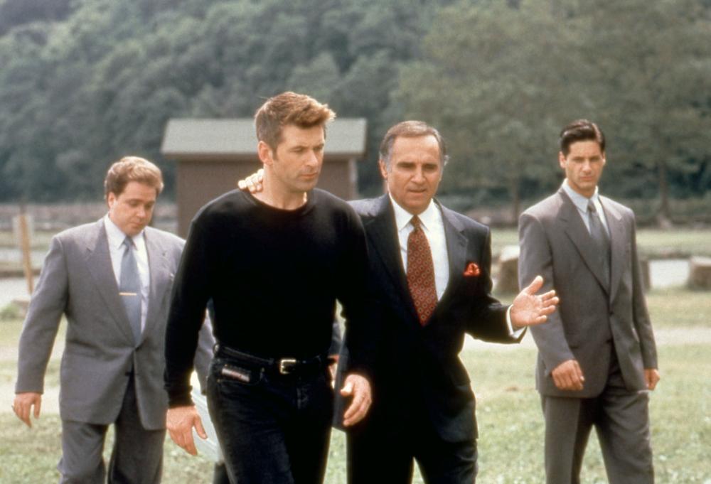 THE JUROR, Michael Rispoli, Alec Baldwin, Tony Lo Bianco, Peter Rini, 1996,  (c)Columbia Pictures