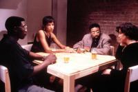 JUNGLE FEVER, Wesley Snipes, Veronica Webb, Spike Lee, Annabella Sciorra, 1991, (c)Universal Pictures