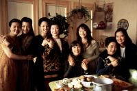 THE JOY LUCK CLUB, Kieu Chinh, Ming-Na Wen, Tamlyn Tomita, Tsai Chin, France Nuyen, Lauren Tom, Lisa Lu, Rosalind Chao, 1993