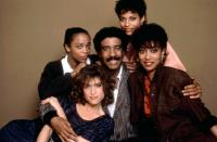 JO JO DANCER, YOUR LIFE IS CALLING, center: Richard Pryor, clockwise from top: Debbie Allen, Paula Kelly, Barbara Williams, Fay Hauser, 1986. ©Columbia Pictures
