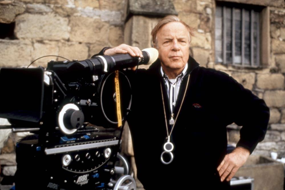 JANE EYRE, director Franco Zeffirelli, on set, 1996. (c)Miramax