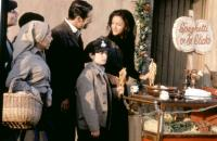 JANE AUSTEN'S MAFIA, Anthony Crivello (second from left), Jason Fuchs (center), Sofia Milos (right), 1998. ©Buena Vista Pictures