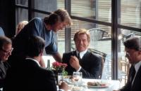INDECENT PROPOSAL, Adrian Lyne, directing Robert Redford in a scene, 1993.