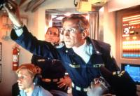 THE HUNT FOR RED OCTOBER, Ned Vaughn, Anthony Peck (background), Scott Glenn (front, center), Courtney Vance (lower right), 1990. ©Paramount