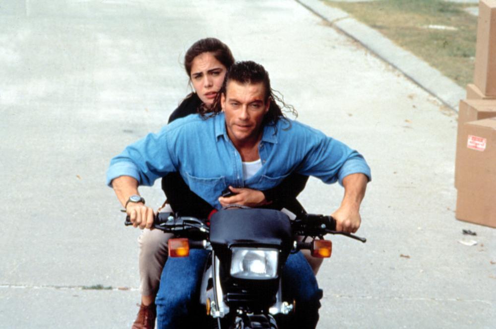 HARD TARGET, Yancy Butler, Jean-Claude Van Damme, 1993