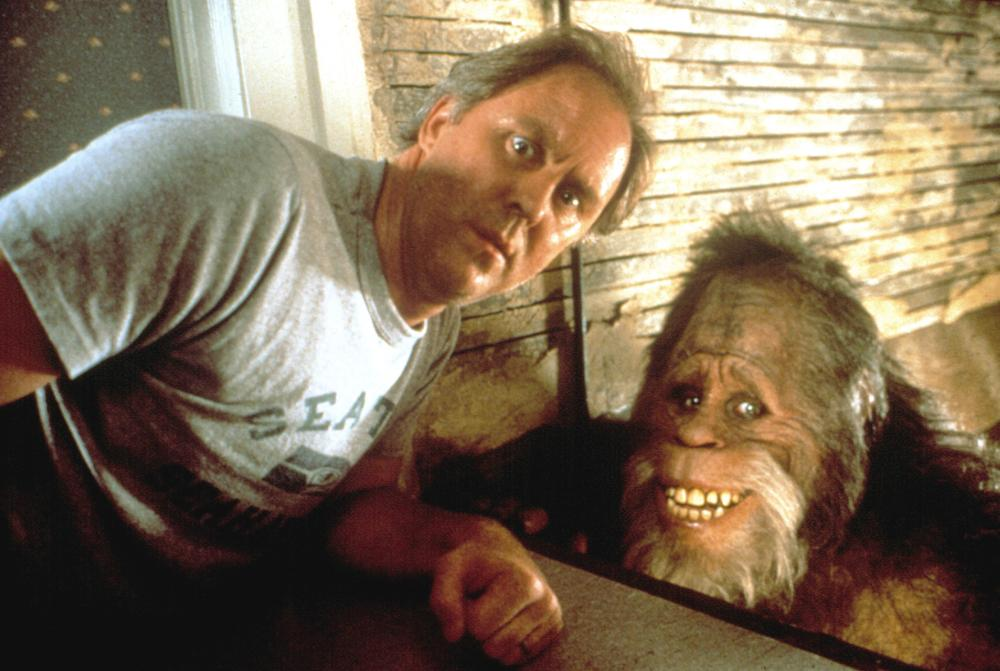 HARRY AND THE HENDERSONS, John Lithgow, Kevin Peter Hall as Harry, 1987