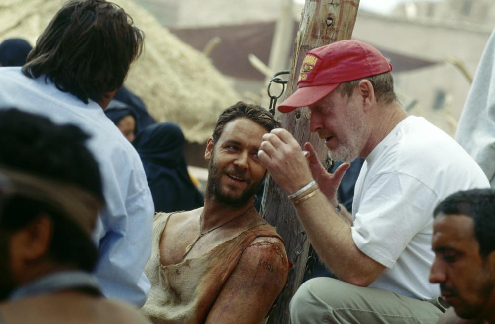 GLADIATOR, Russell Crowe, Ridley Scott, 2000. ©DreamWorks