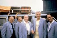 THE GIG, Andrew Duncan, Warren Vache, Daniel Nalbach, Wayne Rogers, Jerry Matz, 1985. ©Castle Hill