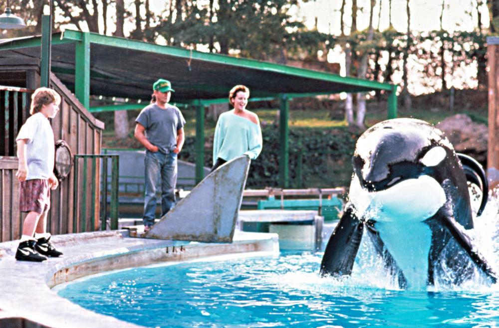 Cineplex.com | August Schellenberg Free Willy Animatronic Whale