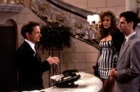 FOR LOVE OR MONEY, Michael J. Fox, Nicole Beach, Issac Mizrahi, 1993, (c)Universal