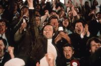 FEVER PITCH, Neil Pearson (raised arm), 1997, © Phaedra Cinema