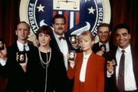 FEDS, Larry Cedar (l.), Mary Gross (second from left), Rebecca De Mornay (third from right), 1988, (c)Warner Bros.