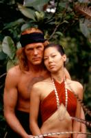 FAREWELL TO THE KING, Nick Nolte, Marilyn Tokuda, 1989, (c)Orion Pictures