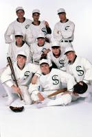 EIGHT MEN OUT, (Back, L-R), James Read, David Strathairn, Bill Irwin, (Middle, L-R), D.B. Sweeney, Michael Rooker, Don Harvey, Gordon Clapp, (Front, L-R), John Cusack, Charlie Sheen, 1988. (c)Orion Pictures.