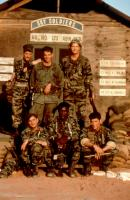 84 CHARLIE MOPIC, (aka 84C MOPIC), Richard Brooks (bottom center), 1989, (c)New Century Vista Films