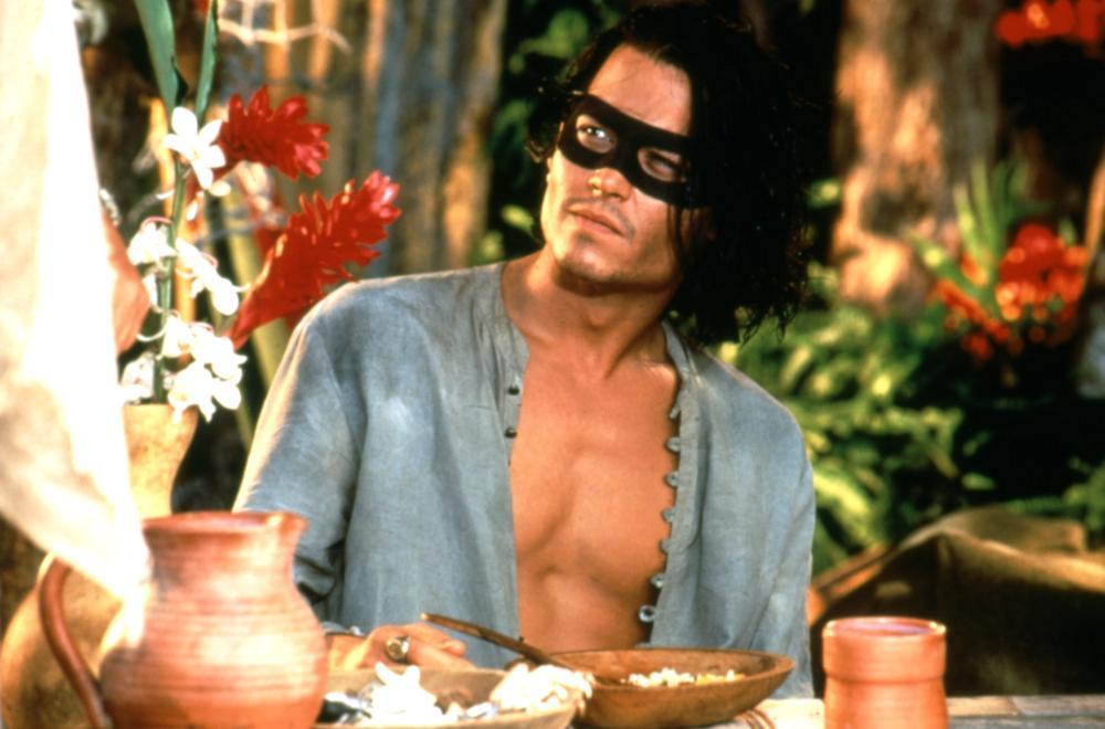 DON JUAN DEMARCO, Johnny Depp, 1995. ©New Line Cinema/courtesy Everett Colletion