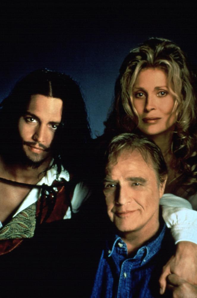 DON JUAN DEMARCO, Johnny Depp, Marlon Brando, faye Dunaway, 1995