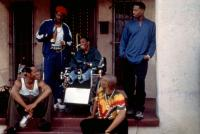 DON'T BE A MENACE TO SOUTH CENTRAL WHILE DRINKING YOUR JUICE IN THE HOOD, Marlon Wayans, Antonio Fargas, Suli McCullough, Chris Spencer, Shawn Wayans, 1996. ©Miramax