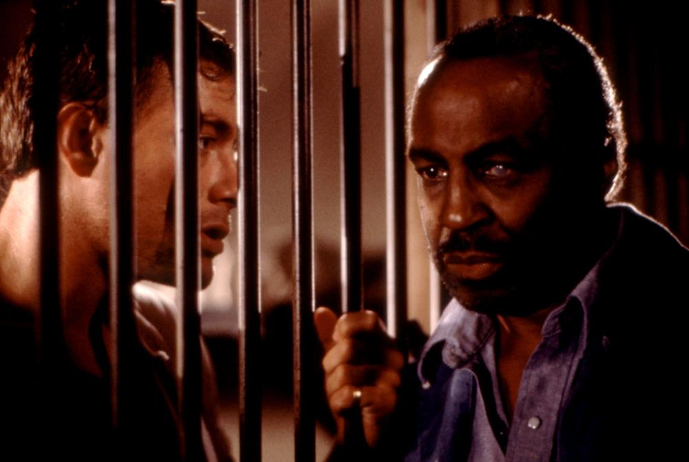 DEATH WARRANT, Jean-Claude Van Damme, Robert Guillaume, 1990, (c)MGM