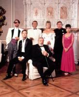 DELIRIOUS, Charles Rocket, Dylan Baker, David Rasche, Raymond Burr, Mariel Hemingway, John Candy, Emma Samms, 1991, (c)MGM