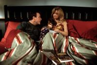 DECEIVED, John Heard, Ashley Peldon, Goldie Hawn, 1991, family in bed