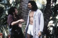 DEUCE BIGALOW: MALE GIGOLO, from left: Rob Schneider, Oded Fehr, 1999, © Touchstone Pictures