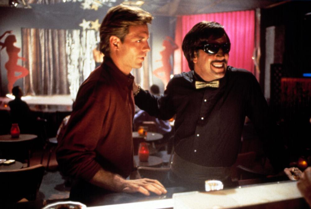 DEADFALL, Michael Biehn, Nicolas Cage, 1993