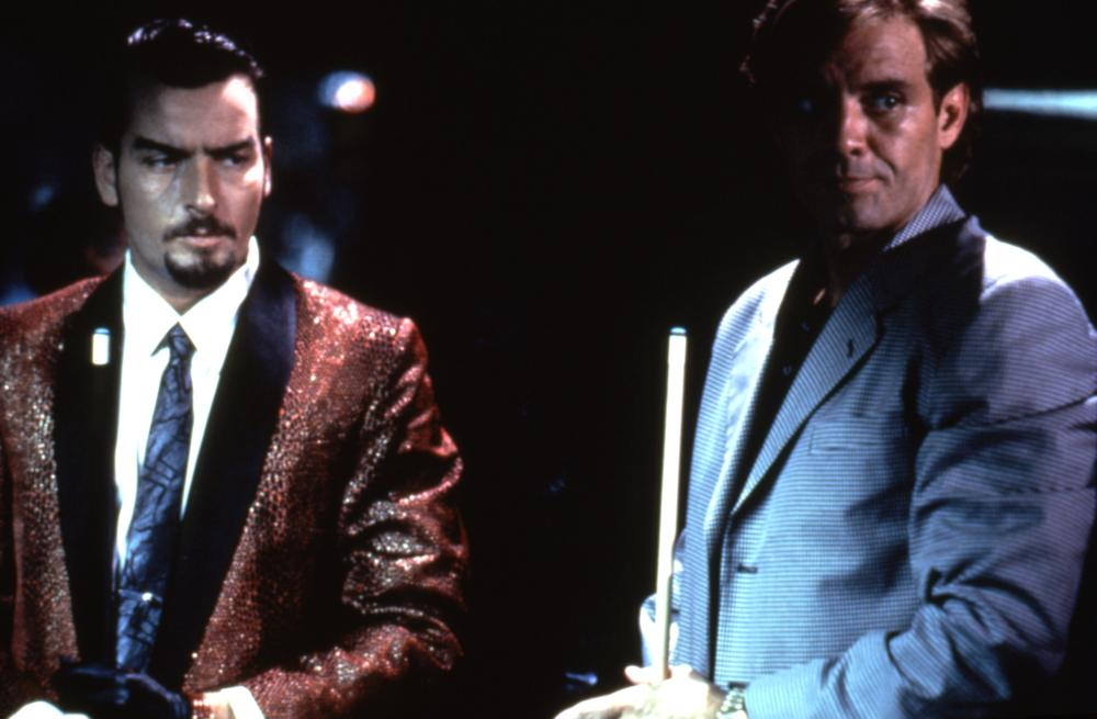 DEADFALL, Charlie Sheen, Michael Biehn, 1993, (c)Trimark Pictures