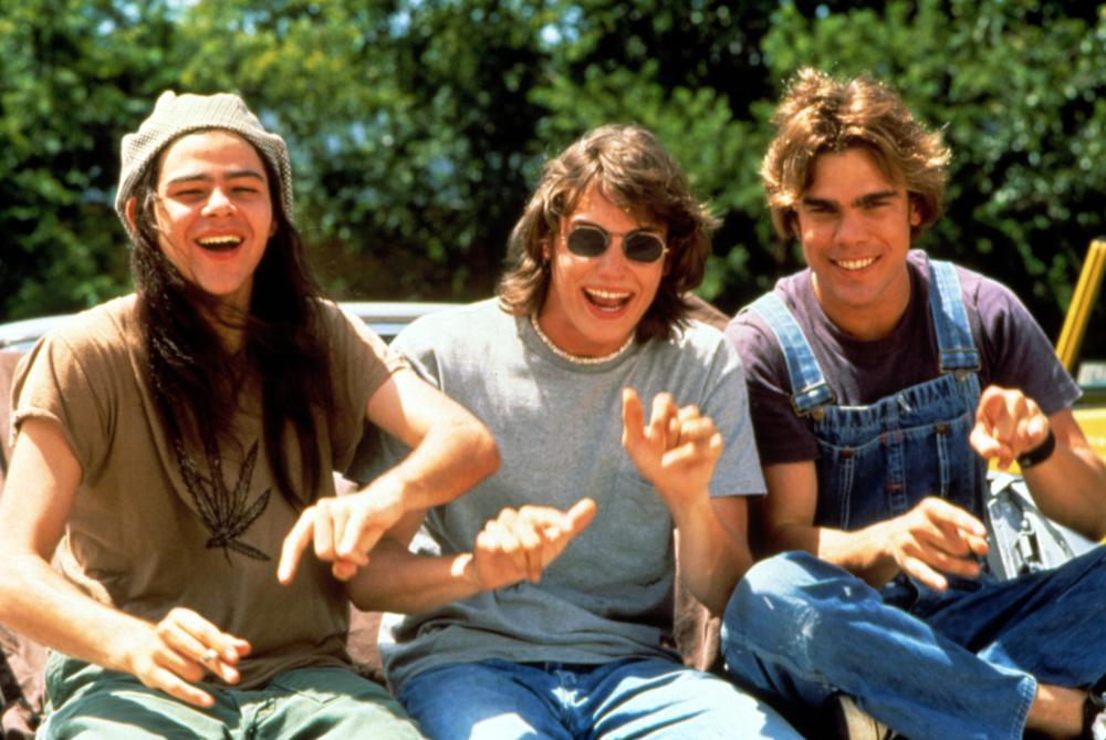 DAZED AND CONFUSED, Rory Cochrane, Jason London, Sasha Jenson, 1993""