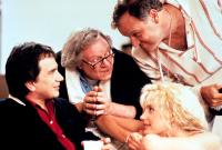 CRAZY PEOPLE, Dudley Moore, Alan North, Daryl Hannah, Floyd Vivino, 1990