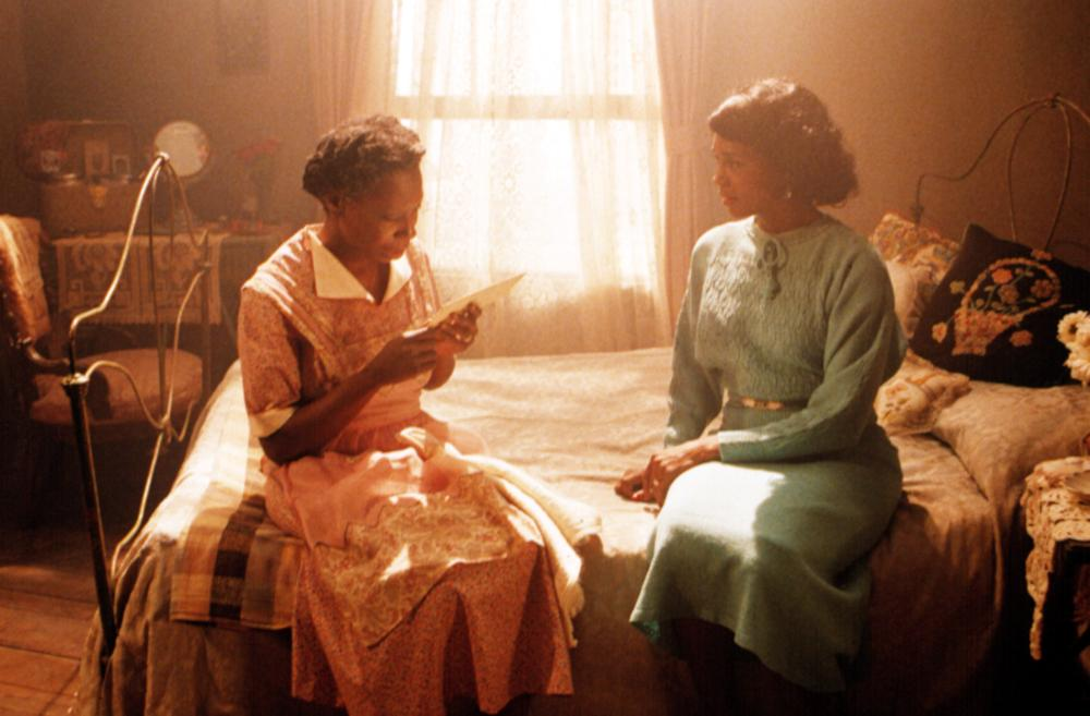 COLOR PURPLE, THE, Whoopi Goldberg, Margaret Avery, 1985