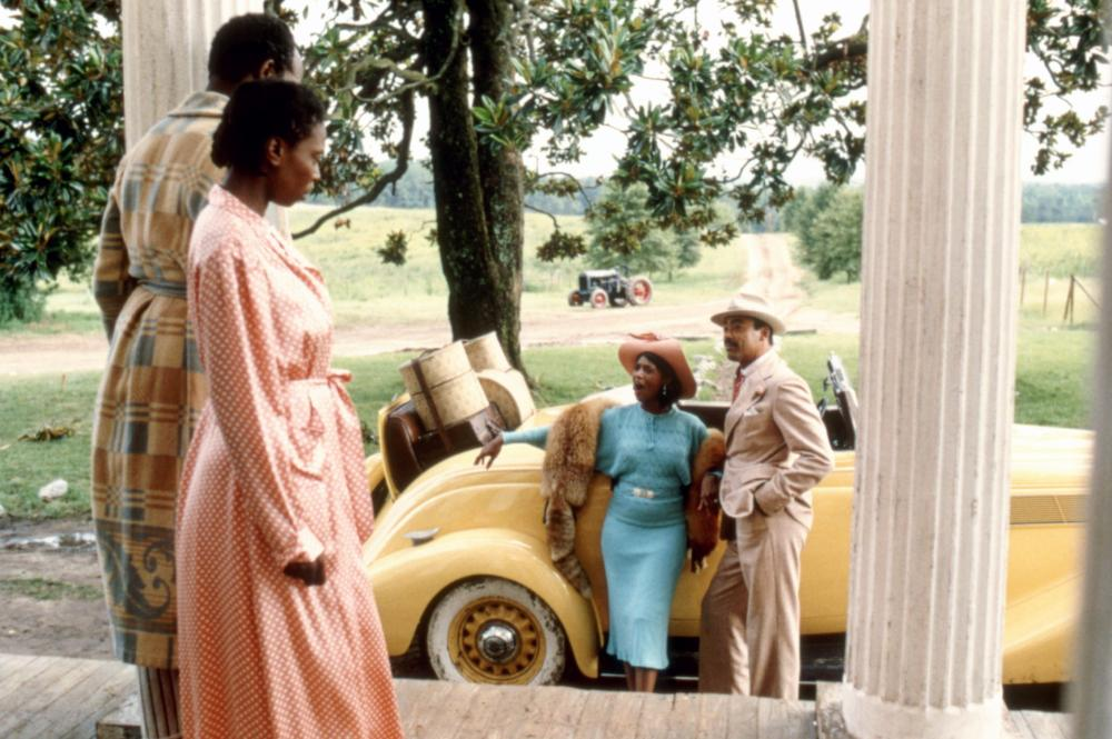 THE COLOR PURPLE, Danny Glover, Whoopi Goldberg, Margaret Avery, Bennet Guillory, 1985. ©Warner Bros.