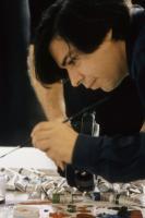 CONDO PAINTING, George Condo, 2000. ©USA Films