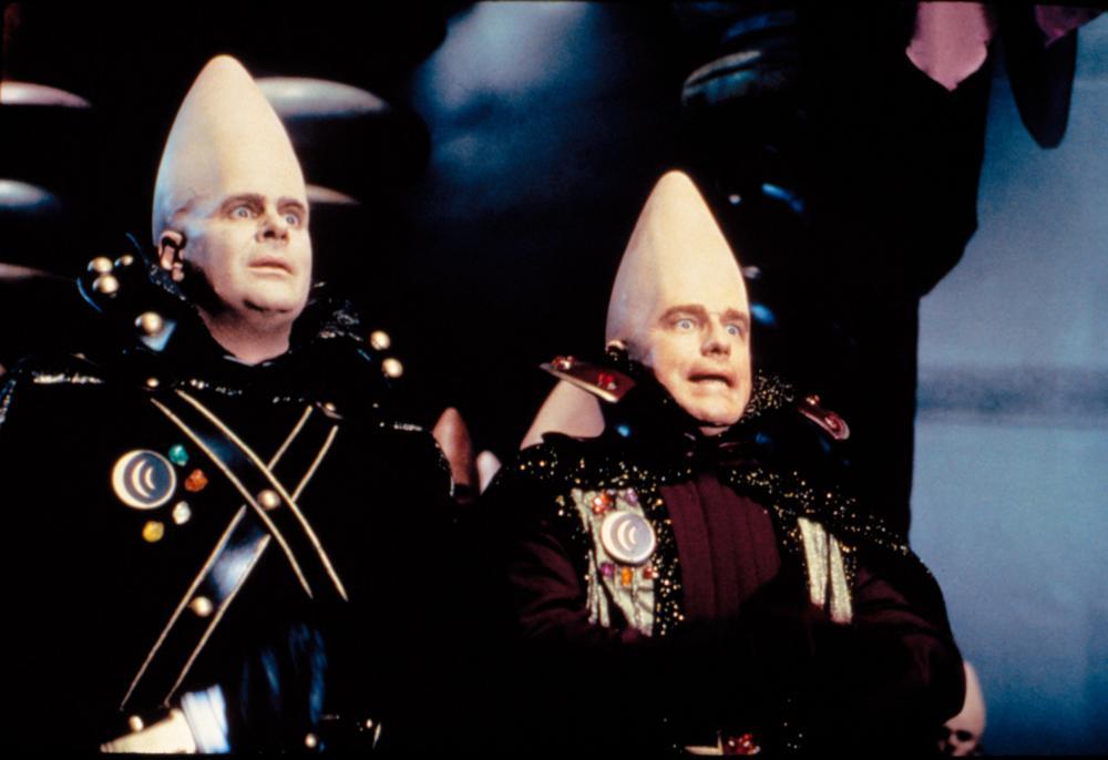 CONEHEADS, Dan Aykroyd, Phil Hartman, 1993. (c) Paramount Pictures.