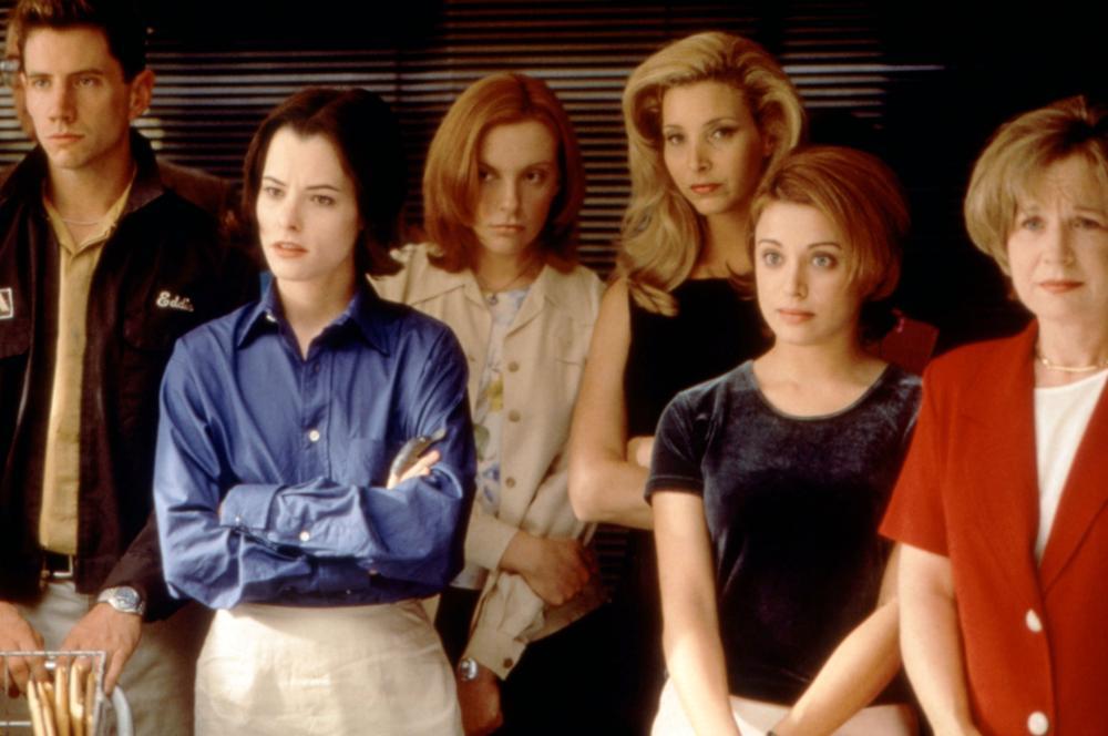 CLOCKWATCHERS, Jamie Kennedy, Parker Posey, Toni Collette, Lisa Kudrow, Alanna Ubach, Debra Jo Rupp, 1998, (c)Artistic License