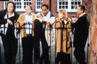 CLOCKWORK MICE, from left: Nigel Planer, James Bolam, Art Malik, Claire Skinner, Ian Hart, 1995, © Feature Films