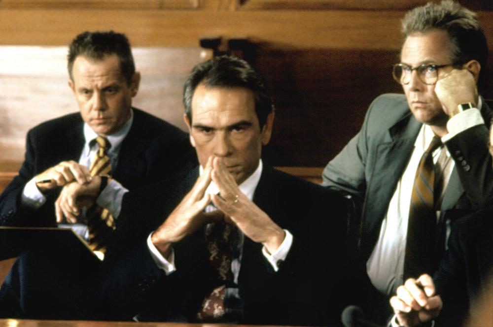 THE CLIENT, William Sanderson, Tommy Lee Jones, J.T. Walsh, 1994, (c) Warner Brothers