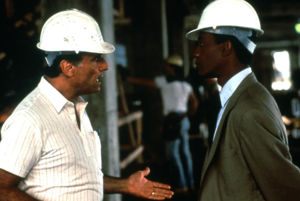 CITY OF HOPE, Tony LoBianco, Joe Morton, 1991, (c)Samuel Goldwyn Films