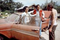 CHRISTINE, Keith Gordon, John Stockwell, Roberts Blossom, 1983, (c)Columbia Pictures