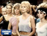 A CHORUS LINE, Vicki Frederick (second from l.), Michelle Johnston (center), 1985, (c)Columbia Pictures