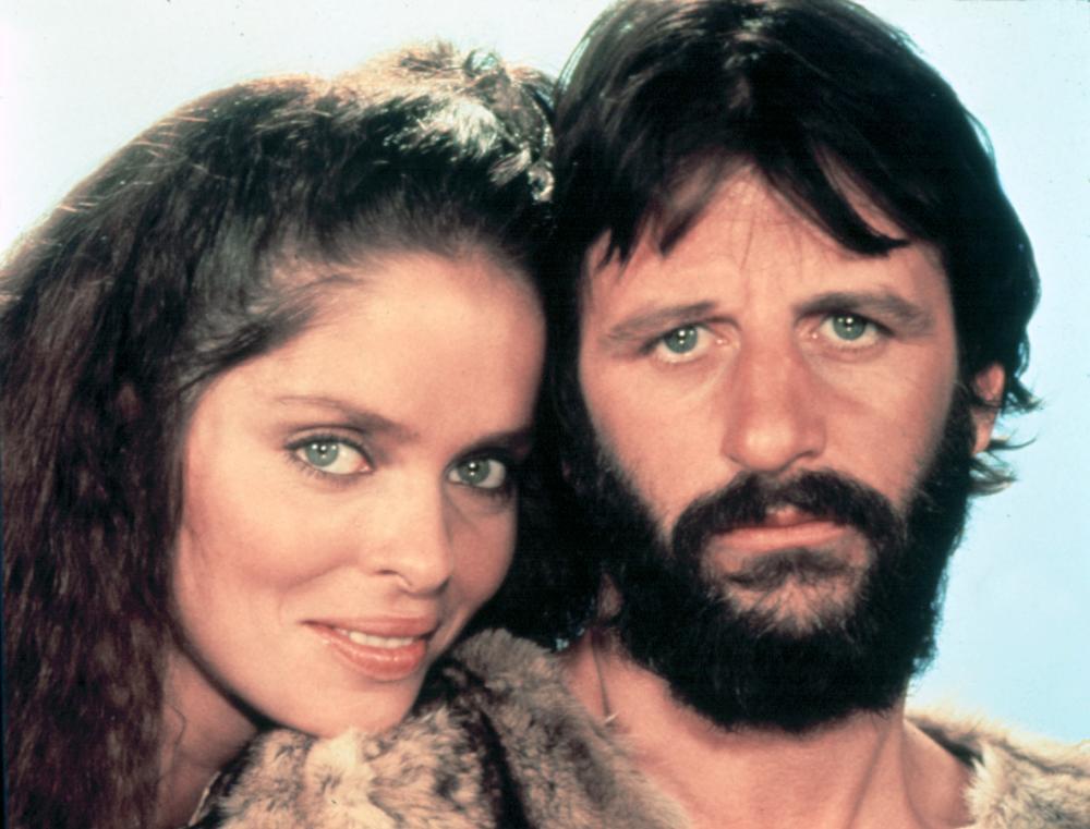 Barbara Bach and Ringo Starr in 'Caveman' 1981 : OldSchoolCool