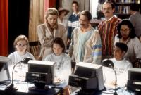 CAMP NOWHERE, Peter Scolari (standing center), Christopher Lloyd (third from right standing), 1994, (c)Buena Vista Pictures