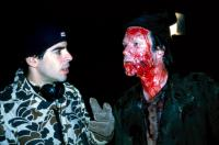 CABIN FEVER, Eli Roth directing Arie Verveen, 2002