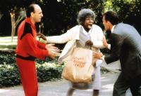 BURGLAR, Raye Birk, Whoopi Goldberg, Scott Lincoln, 1987