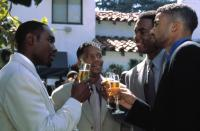 THE BROTHERS, Morris Chestnut, D.L. Hughley, Bill Bellamy, Shemar Moore, 2001