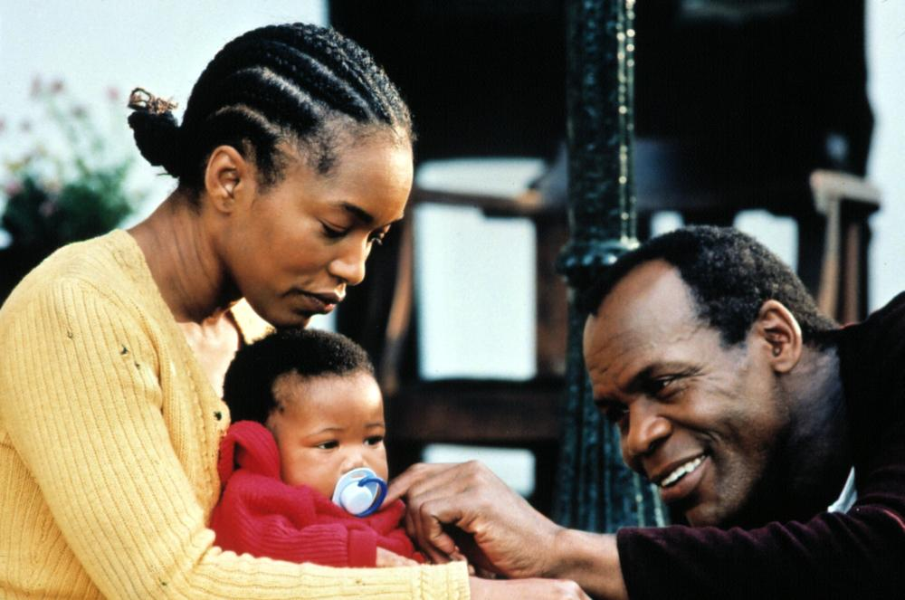 BOESMAN AND LENA, 2000, Angela Bassett, Danny Glover and baby.